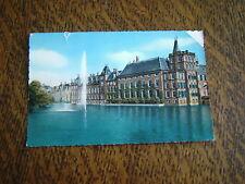 carte postale la haye etang de la cour avec fontaine