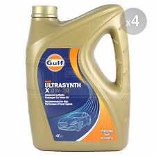 Gulf Ultrasynth X 0w-20 Advanced Synthetic Engine Oil - 4 x 4 Litres 16L