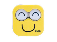 NEW iSee Yellow Contact Lens Eye Care Kit