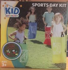 New Kids Connection Set Sports Day Kit Active Play Gift Sack Race Egg&Spoon