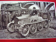 191? FORD MODEL T ROADSTER ARMY ? FULL TANK TYPE TRACKS  11 X 17  PHOTO  PICTURE