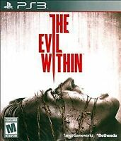 Evil Within (Sony PlayStation 3, 2014) COMPLETE IN CASE