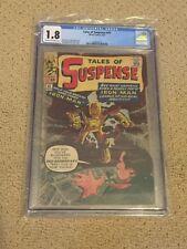 Tales of Suspense 42 CGC 1.8 (4th app Iron Man from 1963!!)