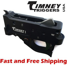 Timney Drop In Competition Trigger Group for Ruger 10/22 - Black Housing w/Green