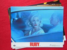 RARE 10x8 UK FOH LOBBY CARD STILL SET(x8) - RUBY