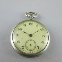 VTG SWISS Pocket Watch for parts or repair