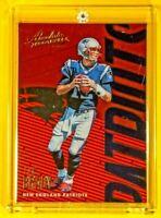 Absolute Football Tom Brady Patriots Legend Spectacular Rare Holofoil Card Mint