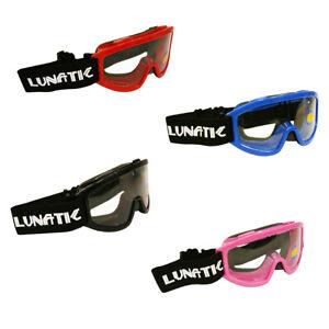 Lunatic Youth Goggles MX ATV Motocross Dirt Bike Motorcycle Kids Boys Girls