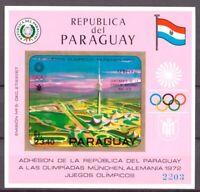 Paraguay MiNr. Block 142 postfrisch MNH Olympiade 1972 (Oly1015