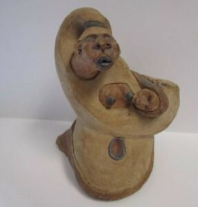 PEDRO MONGRUT CERAMIC SCULPTURE ABSTRACT NUDE WOMAN FEMALE CUBISM SURREALISM MOD