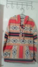 Brand New Aztec Print Pullover Hoodie Jacket-Unisex-Size XL-Colorful