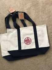 2 NEW Trader Joe's Reusable Canvas Eco Tote Bag (Heavy Duty Grocery Bags) ♻️