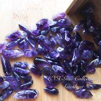 Tumbled Gemstone Natural Crystal Amethyst 5g Birthstone Sagittarius Aquarius