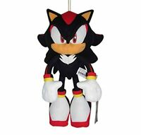 Sonic The Hedgehog Shadow Plush - Great Eastern - 12'' Authentic