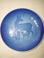 1975  Bing & Grondahl B&G Porcelain Mothers Day Plate