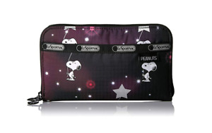LeSportsac Lily Wallet Peanuts Snoopy In the Stars new w tags