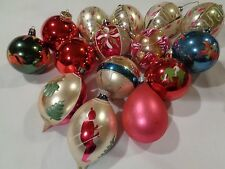 Lot of 14 Vintage Christmas Ornaments Decorations