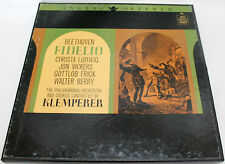 [MINT] BEETHOVEN: Fidelio Klemperer 3-LP BOX Set, ANGEL STEREO, Philharmonia Orc
