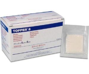 Sterile Gauze Swabs 5cm x 5cm Topper 8.Top Brand.Various Quantities.Cheapest