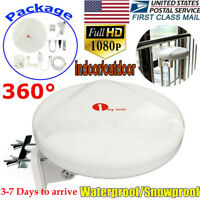 2020 Hdtv TV Antenna - 1byone 360° Omni-Directional Reception Amplified Outdoor