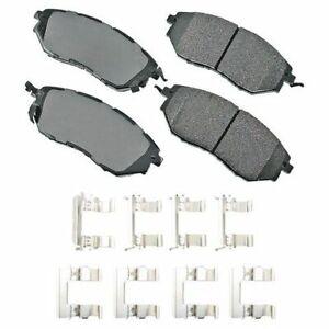Akebono ACT1078A Akebono ProACT Ultra Premium Ceramic Disc Brake Pad Kit