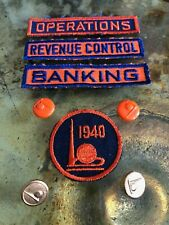 Original Vintage Worlds Fair insignia and gold buttons 1939-1940