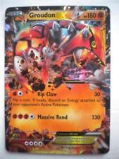 Cartes Pokémon rares à l'unité groudon