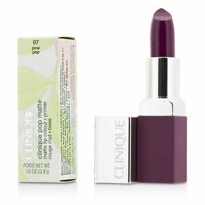 Clinique Pop Lipstick Colour +Primer Rouge Intense +Base Pow Pop 08 13 oz/ 3.9 g