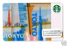 Starbucks Japan 2012 Tokyo City Gift Card Limited Edition Collectible from Japan