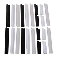 New 8x Car Door Edge Guard Strip Protector Anti Collision Moulding Trim Cover