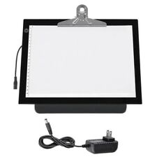 "14"" LED Artist Stencil Board Tattoo Drawing Tracing Table Light Box Pad Adapter"