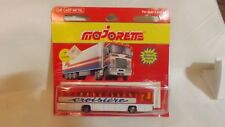 """Majorette Airport Bus """"Croisiere"""" # 372 Action Moving Parts Made In France"""