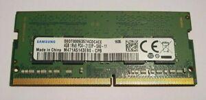 Samsung 4GB 1x4GB DDR4 2133MHz PC4-2133P 1700 260pin Laptop RAM Memory SODIMM