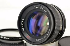 Excellent Contax Planar 50mm f/1.4 AEJ Carl Zeiss with 55mm filter from Japan