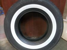 """ONE 235/75R15 Vogue Classic White Wide 1 1/2"""" White Wall Automobile Tire 109T"""