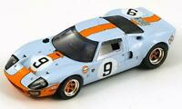 Ford GT40 (Le Mans Winner 1968) in Light Blue (1:43 scale by Spark 43LM68)