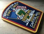 Fire Department Capitol Hill 3D routed sign wood patch plaque sign Custom