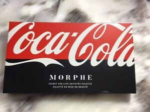 COCA-COLA X MORPHE THIRST FOR LIFE ARTISTRY EYESHADOW PALETTE 💯 AUTHENTIC
