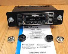1956 CHEVY AM/FM RADIO CUSTOM AUTOSOUND USA-230 Fits in Stock Dash Opening