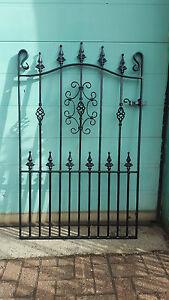 Wrought Iron Metal Garden Gate/GatesTOP QUALITY-4ft (1219mm) Frame height-AVON