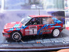 Lancia Diecast Rally Cars with Stand