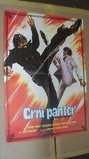 Black Panther - Crni Panter Original Yugoslavian Movie Poster