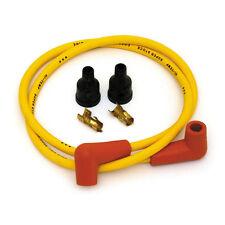 Capuchon Cable Fils de bougie haute tension dia 7 mm moto harley triumph jaune Y