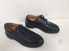 Womens Dr Martens Black Leather Brogue 3989 Wingtips Shoes Uk5 EU38