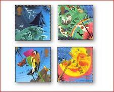 GBR0106 Meteorology 4 stamps