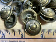 "Metal Buttons  Bronze #138L Dome 6 pcs 7/8"" - 23mm"