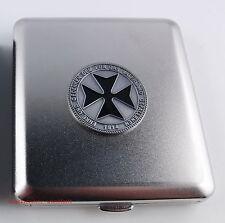Cigarrera con emblema cruz cruz-Honor y conmemorar... nuevo embalaje original