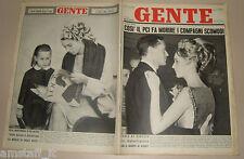 GENTE 1962/4=PAOLA RUFFO MEL FERRER=ELSA MARTINELLI VOGUE=JULES DASSIN=DON LURIO