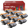 TN660 Black Toner Lot for Brother TN630 HL-L2320D L2340DW L2360DW MFC-L2700DW