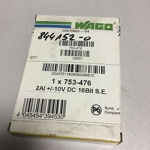 WAGO 753-476 2ch Analog Input
